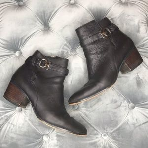 Coach Strapped Ankle Boots